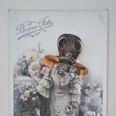 Varios objetos de Arte: CÉSAR ARIAS (PUEBLA DE DON FADRIQUE 1921–2007), GRUPO PUENTE NUEVO. COLLAGE S/TARJETA POSTAL, 1971. Lote 278283593