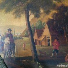 Varios objetos de Arte: CUADRO PINTADO AL ÓLEO GRAN TAMAÑO. Lote 278385658