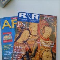 Varios objetos de Arte: REVISTA RESTAURACIÓN Y REHABILITACIÓN. MAYO 1999 N° 28. DE REGALO REVISTA DESCUBRIR EL ARTE. Lote 278560658