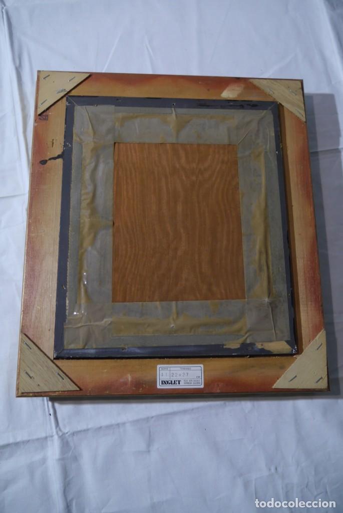 Varios objetos de Arte: Cuadro de niño merendando, bordado sobre tela - Foto 13 - 278623523