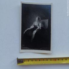 Varios objetos de Arte: FOTOGRAFÍA DE CUADRO DE EUGENIA DE MONTIJO. 1920S. Lote 278637663