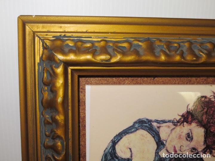 Varios objetos de Arte: Cuadro azulejo Edith, la mujer del artista Egon Schiele - Foto 8 - 278980963
