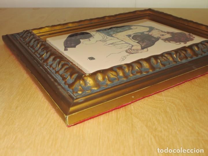 Varios objetos de Arte: Cuadro azulejo Edith, la mujer del artista Egon Schiele - Foto 13 - 278980963