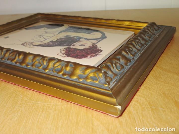 Varios objetos de Arte: Cuadro azulejo Edith, la mujer del artista Egon Schiele - Foto 14 - 278980963
