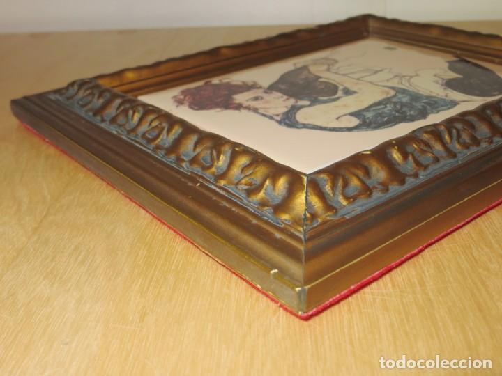 Varios objetos de Arte: Cuadro azulejo Edith, la mujer del artista Egon Schiele - Foto 15 - 278980963