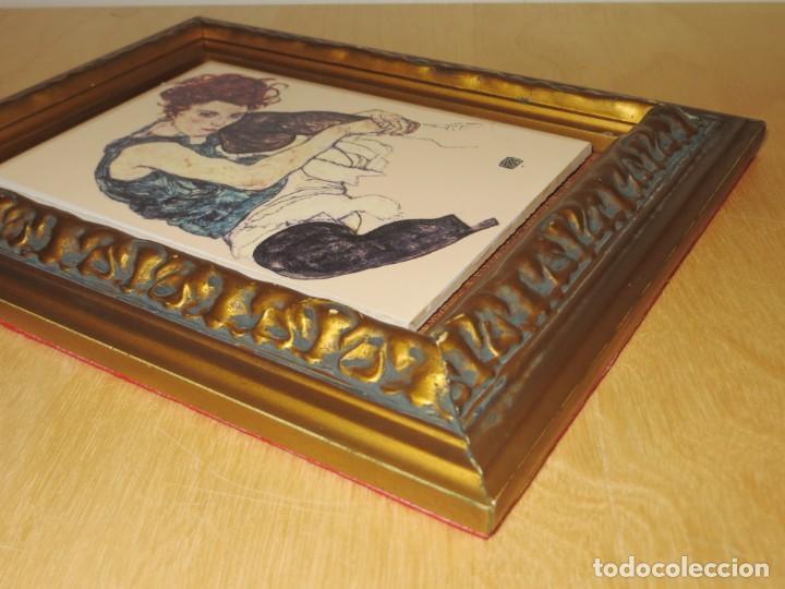 Varios objetos de Arte: Cuadro azulejo Edith, la mujer del artista Egon Schiele - Foto 16 - 278980963