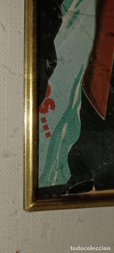 Varios objetos de Arte: Antigua pintura collage procede de Alicante - Foto 2 - 279351123