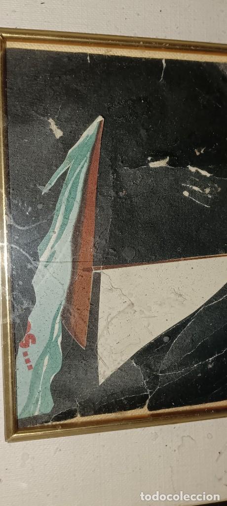 Varios objetos de Arte: Antigua pintura collage procede de Alicante - Foto 3 - 279351123
