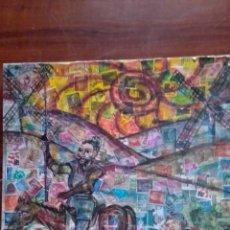 Art: TORO BRAVO. ORIGINAL.FIRMADA. Lote 285293033