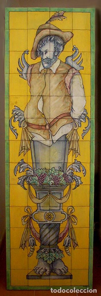 Varios objetos de Arte: 2 murales Quijote y Sancho - Foto 2 - 285435653
