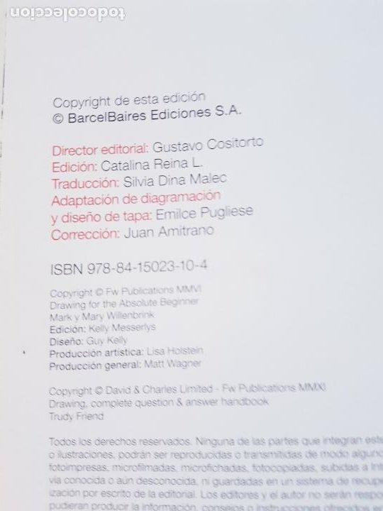 Varios objetos de Arte: LIBRO-CURSO BÁSICO DE DIBUJO-CATALINA REINA-ILUS BOOKS-UNA GUÍA PASO A PASO PARA APRENDES A DIBUJAR - Foto 12 - 285622688