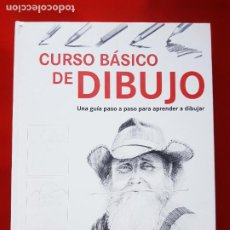 Varios objetos de Arte: LIBRO-CURSO BÁSICO DE DIBUJO-CATALINA REINA-ILUS BOOKS-UNA GUÍA PASO A PASO PARA APRENDES A DIBUJAR. Lote 285622688