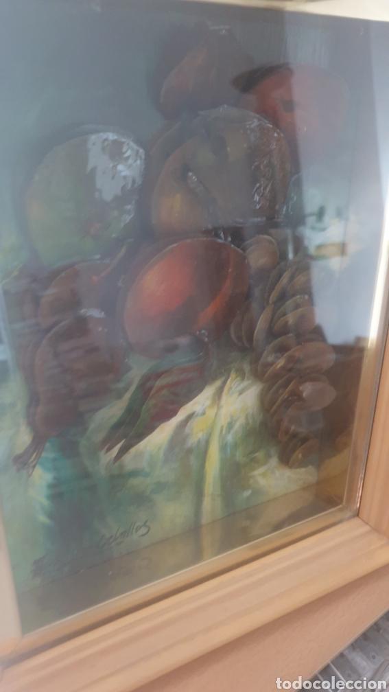 Varios objetos de Arte: Pintura de frutas en relieve ANSELMO CEBALLOS. - Foto 3 - 285690883