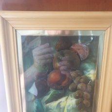 Varios objetos de Arte: PINTURA DE FRUTAS EN RELIEVE ANSELMO CEBALLOS.. Lote 285690883