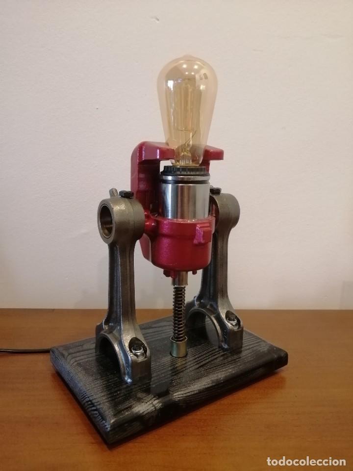 Varios objetos de Arte: Lampara estilo industrial hecha a mano - Foto 2 - 286864833
