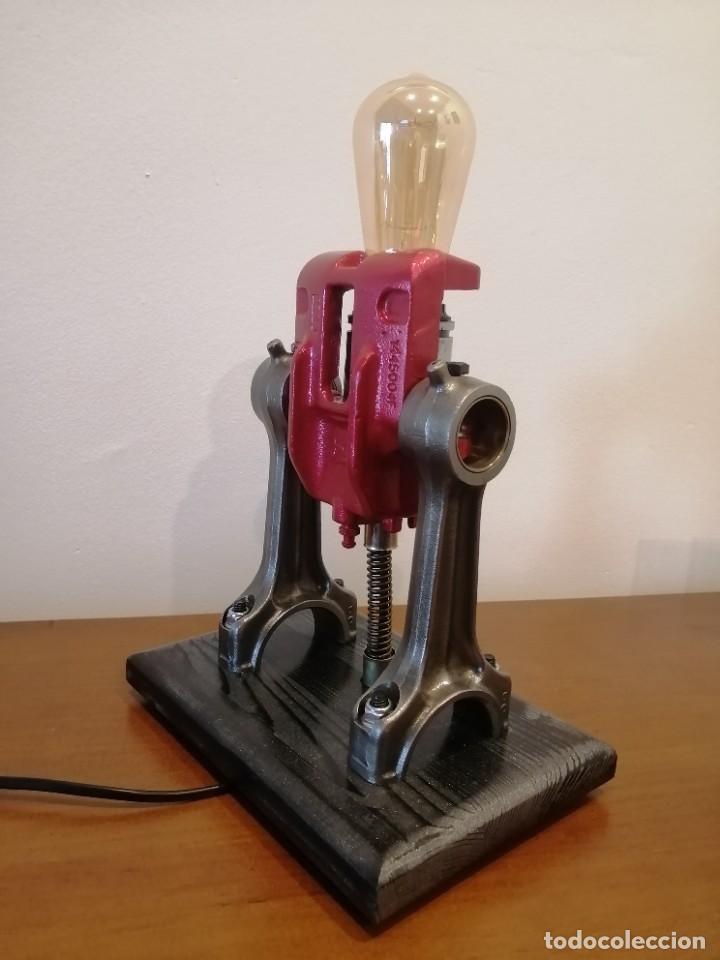 Varios objetos de Arte: Lampara estilo industrial hecha a mano - Foto 3 - 286864833