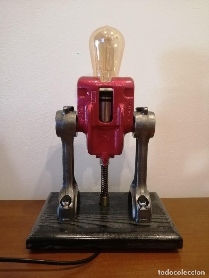 Varios objetos de Arte: Lampara estilo industrial hecha a mano - Foto 4 - 286864833