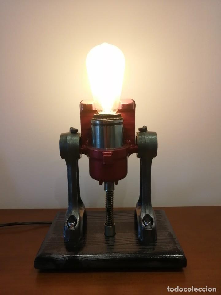 Varios objetos de Arte: Lampara estilo industrial hecha a mano - Foto 5 - 286864833