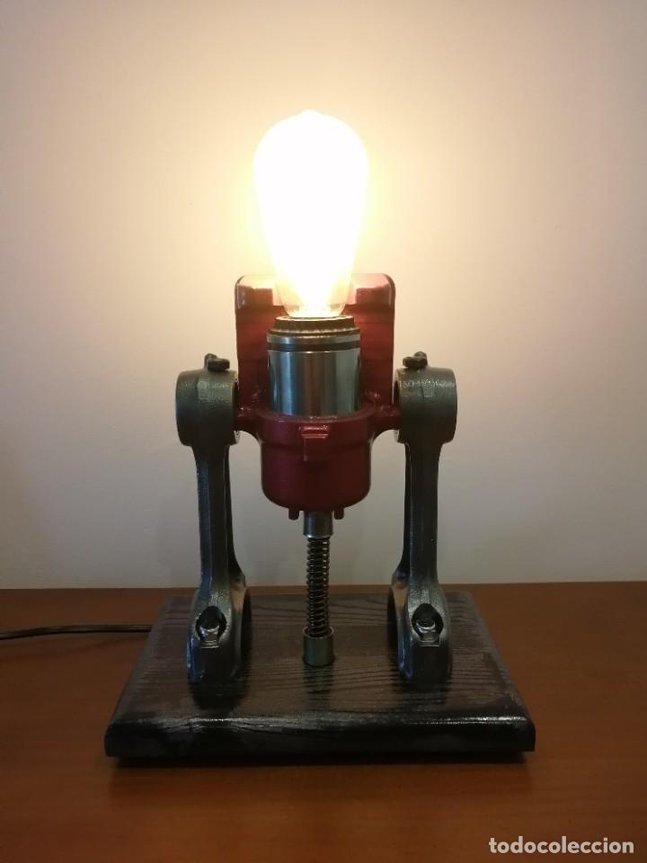 Varios objetos de Arte: Lampara estilo industrial hecha a mano - Foto 6 - 286864833