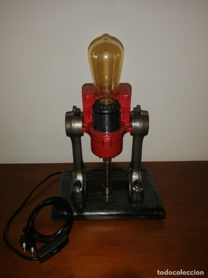 Varios objetos de Arte: Lampara estilo industrial hecha a mano - Foto 7 - 286864833