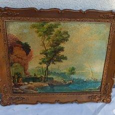 Varios objetos de Arte: BONITO CUADRO PAISAJE. Lote 286995948