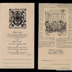Varios objetos de Arte: L37-9-2 TARGETÓ DE RAMON GABERNET I MACIÁ AMB IL·LUSTRACIÓ DE JOAN JUNCEDA.. Lote 287070633