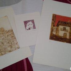 Arte: LOTE 3 OBRAS. CARMEN MARTÍN Y PABLO PINO. CERTIFICADAS. Lote 287085843