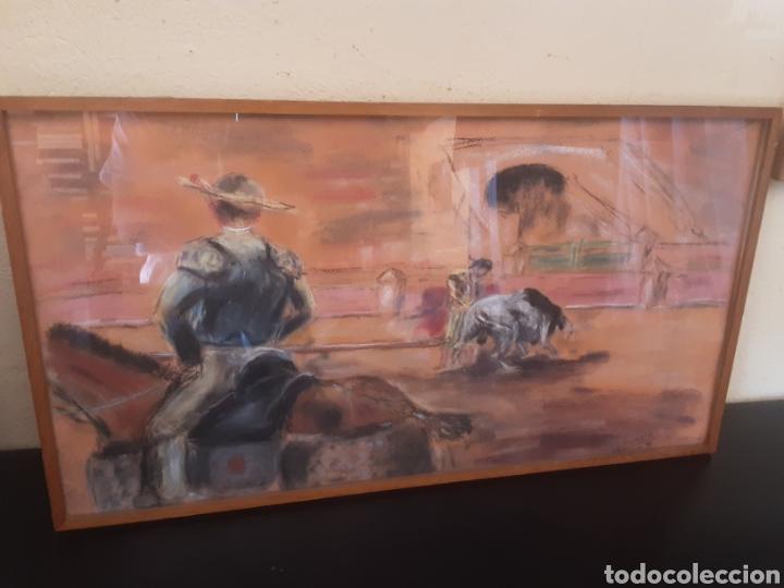 CUADRO IMAGEN CORRIDA DE TOROS (Arte - Varios Objetos de Arte)