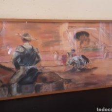 Varios objetos de Arte: CUADRO IMAGEN CORRIDA DE TOROS. Lote 287444993