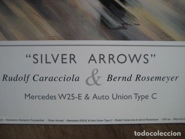 """Varios objetos de Arte: """"Silver Arrows"""" - Mercedes-Benz/Rudolf Caracciola-Auto Union/Bernd Rosemeyer Monaco Grand Prix 1936 - Foto 2 - 287447403"""