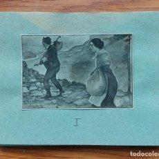 """Varios objetos de Arte: VICTOR CATALA COL.LECCIÓ 18 FOTOGRAFIES D'IL.LUSTRACIONS DE LONGORIA PER A """"SOLITUD"""" C. 1920-30. Lote 287623258"""
