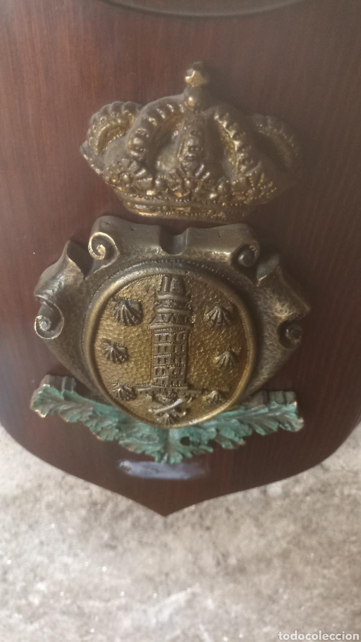 Varios objetos de Arte: Metopa escudo la Coruña - Foto 3 - 287706138