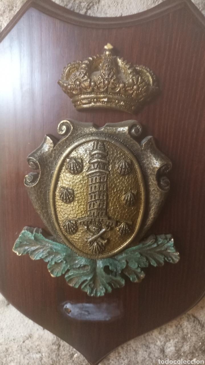 Varios objetos de Arte: Metopa escudo la Coruña - Foto 4 - 287706138