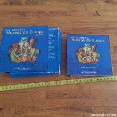 Varios objetos de Arte: LOTE DE CDS LOS GRANDES MUSEOS DE EUROPA, DEL 1 AL 9. DE 12.. Lote 287874553