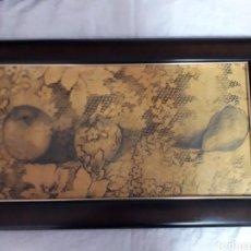 Varios objetos de Arte: RUPERTO CABRERA. IMPRESIÓN SOBRE LIENZO. TENERIFE.CANARIAS. ARTE. 56 CM X 34 CM. Lote 287898548