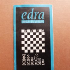Varios objetos de Arte: EDRA Nº 1 PUBLICACIO DE L'ASSOCIACIO CATALANA D'ARTISTES PLASTICS ACAP - AÑO 1988. Lote 287900208
