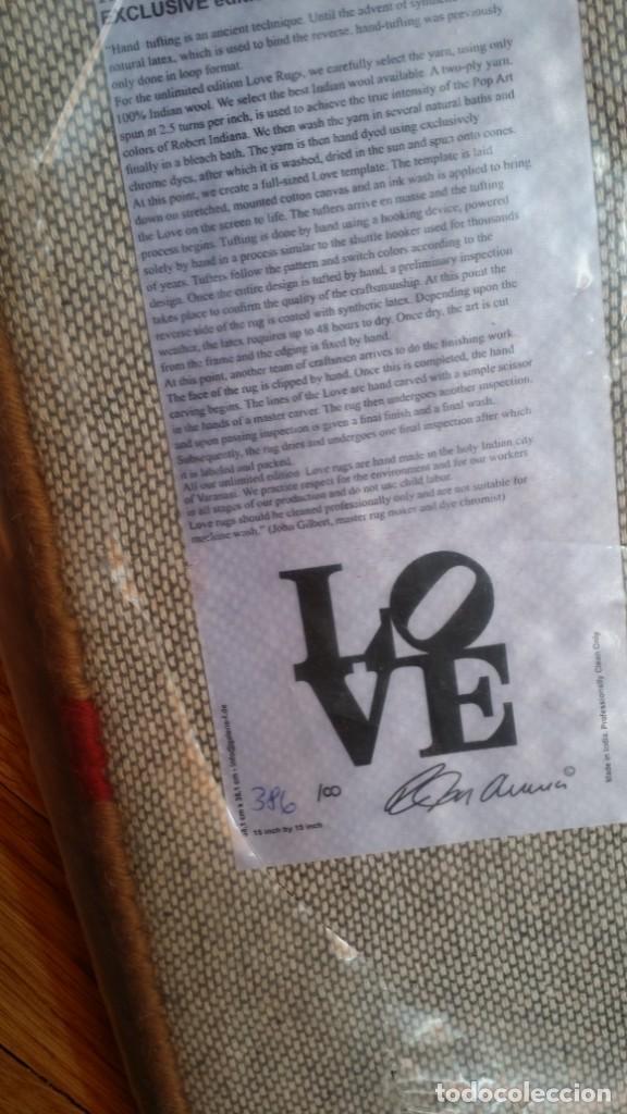 Varios objetos de Arte: ROBERT INDIANA: LOVE OTOÑO, numerado y CERTIFICADO / Precintado - Foto 4 - 287931543