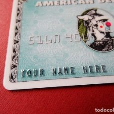 Varios objetos de Arte: DFACE AMERICAN DEPRESS CARD. Lote 288351168