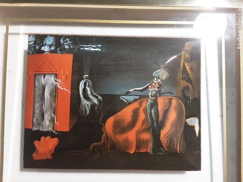 Varios objetos de Arte: Esmalte en cuadro de la Fundación Gala Salvador Dali Figueras - Foto 2 - 288551568