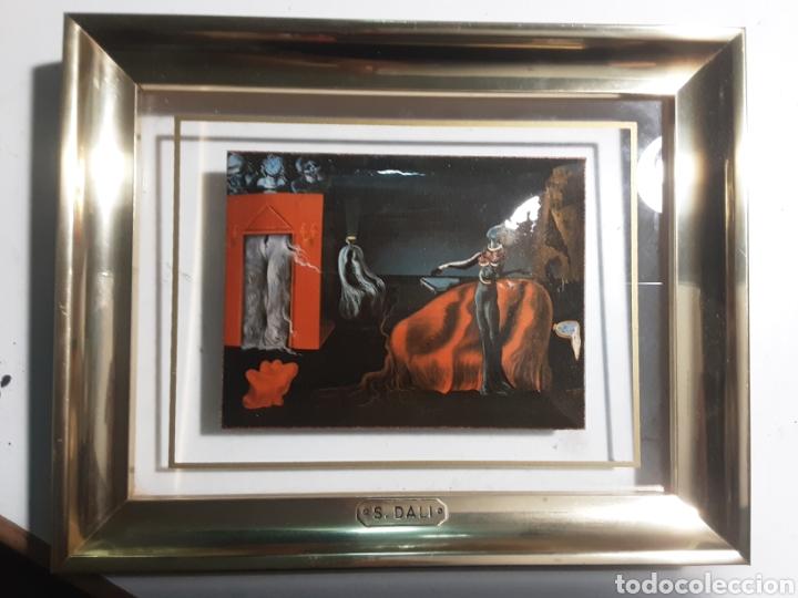 ESMALTE EN CUADRO DE LA FUNDACIÓN GALA SALVADOR DALI FIGUERAS (Arte - Varios Objetos de Arte)