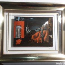 Varios objetos de Arte: ESMALTE EN CUADRO DE LA FUNDACIÓN GALA SALVADOR DALI FIGUERAS. Lote 288551568