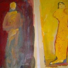 Varios objetos de Arte: NATHAN OLIVEIRA. ARTE. GRAN OPORTUNIDAD DOS OBRAS. FIRMA. Lote 288641428