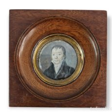 Varios objetos de Arte: MINIATURA PINTADA EN MARFIL. LATE 18TH IVORY MINIATURE PAINTING.. Lote 288953088