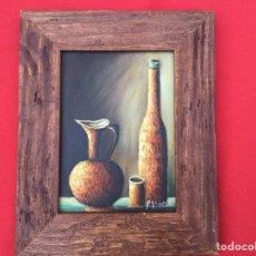 Varios objetos de Arte: ÓLEO FIRMADO. Lote 289883903