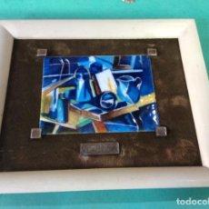 Varios objetos de Arte: ESMALTE VLAMINCK.. Lote 291891603