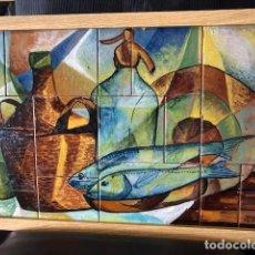 Varios objetos de Arte: CUADRO CERÁMICA. Lote 294170143