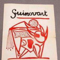Varios objetos de Arte: GUINOVART - SALA CARALT - 1953. Lote 296617998