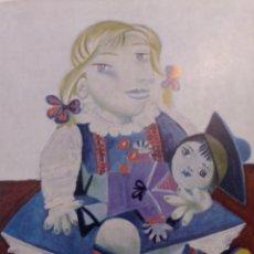 Varios objetos de Arte: PICASSO FIRMADO NUMERADO A MANO. CERTIFICADO. Lote 296820308