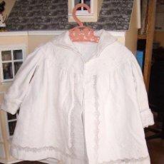 Vestidos Muñeca Española Clásica: ANTIGUO ABRIGO PARA MUÑECAS. Lote 26289809