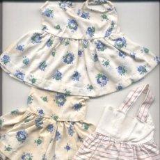 Vestidos Muñeca Española Clásica: TRES VESTIDOS. Lote 27436909